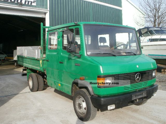 Mercedes Benz 814 Doka 3 Side Tipper Engine Brake 1988