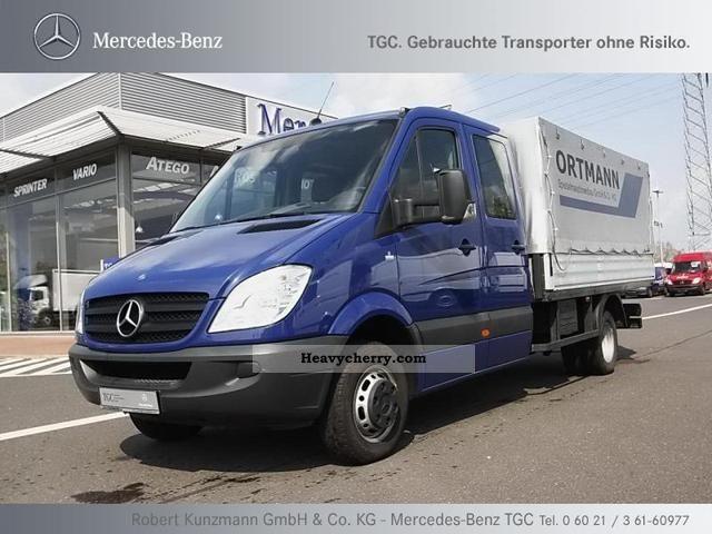 Mercedes benz sprinter 515 cdi doka platform 6 seater air for Mercedes benz sprinter 515 cdi specifications