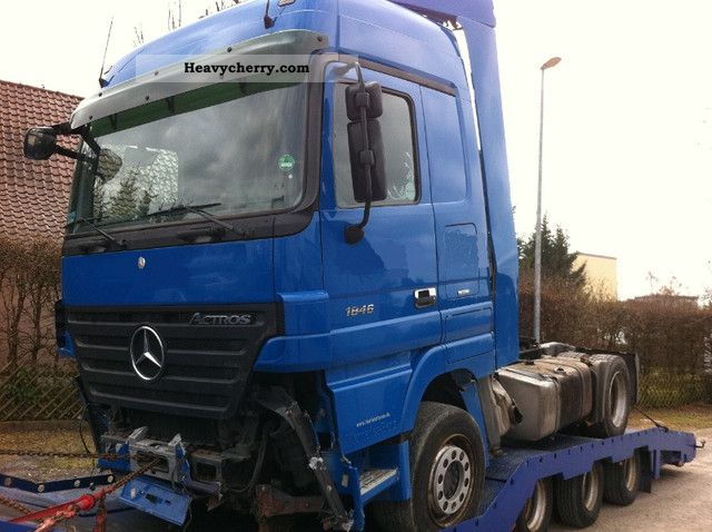 Semi Tractor Air Lines : Mercedes benz euro actros ls low air line mega