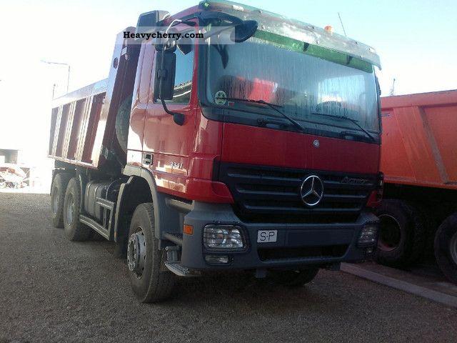Mercedes benz 3341 dump truck mercedez top condition 2010 for Mercedes benz dump truck