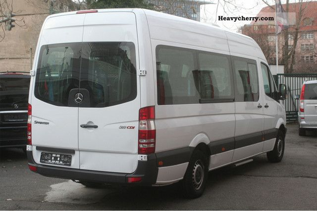 Mercedes Benz Sprinter 311 Cdi Maxi 2xklima Wheelchair