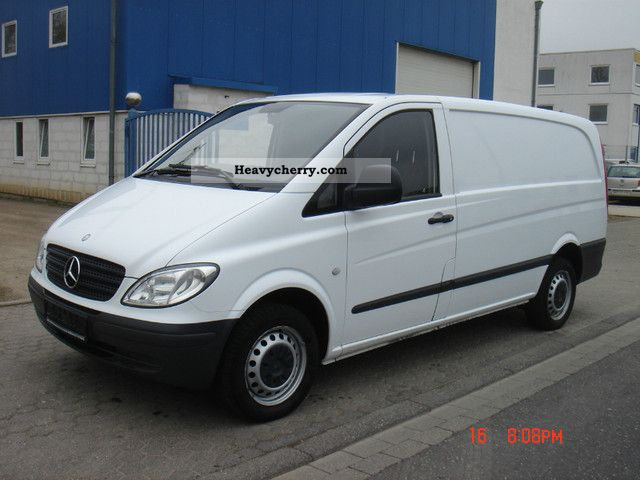 mercedes benz vito 111 cdi 2008 box type delivery van photo and specs. Black Bedroom Furniture Sets. Home Design Ideas