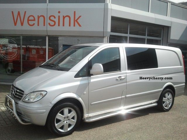 mercedes benz vito 111cdi l dubbelcabine automaat air conditioning eng 2009 box type delivery. Black Bedroom Furniture Sets. Home Design Ideas