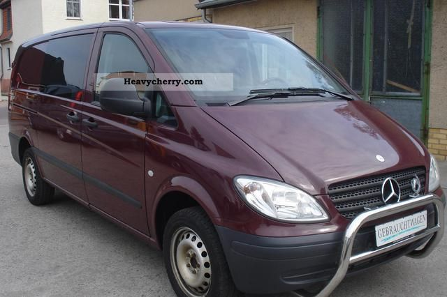 mercedes benz vito 115 cdi klima lang mixto 2006 box type delivery van long photo and. Black Bedroom Furniture Sets. Home Design Ideas
