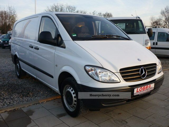 mercedes benz vito 115 cdi dpf many doors 2006 box type delivery van long photo and specs. Black Bedroom Furniture Sets. Home Design Ideas