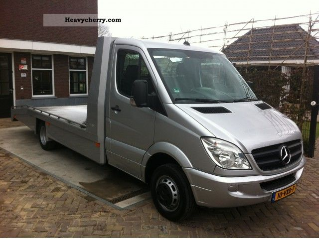 Mercedes benz sprinter 518 cdi auto air conditioning 2008 for 2008 mercedes benz truck