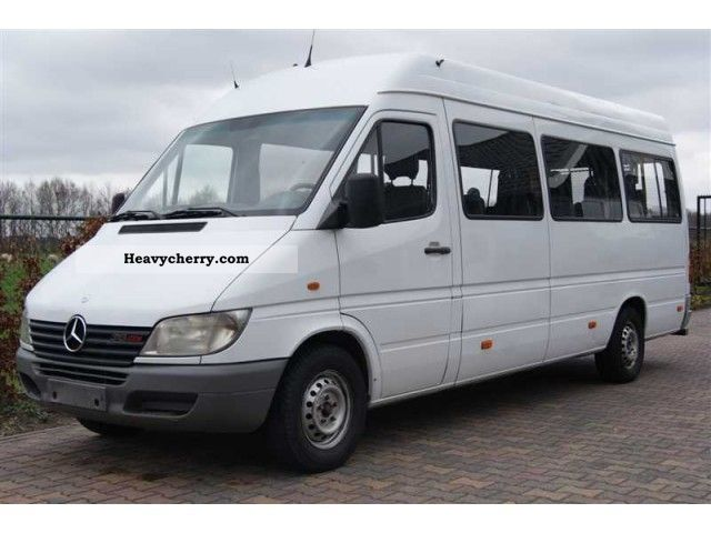 mercedes benz sprinter 313 cdi long maxi hoog airco clima 2002 estate minibus up to 9 seats. Black Bedroom Furniture Sets. Home Design Ideas