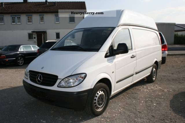 mercedes benz vito 111 cdi high culvert 2005 box type. Black Bedroom Furniture Sets. Home Design Ideas
