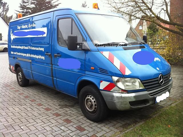 2001 Mercedes-Benz  313 CDI Van or truck up to 7.5t Vacuum and pressure vehicle photo