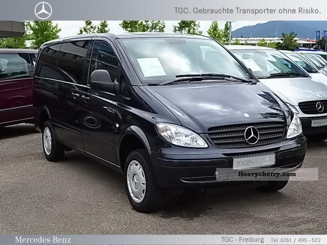 mercedes benz vito 115 cdi 4x4 park tronic automatic air navigation 2007 estate minibus up to. Black Bedroom Furniture Sets. Home Design Ideas