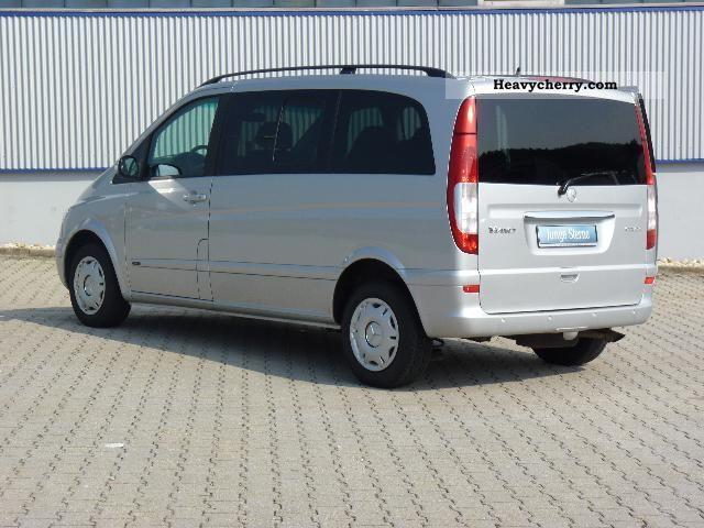 Mercedes benz cdi 2 2 viano compact 2008 estate minibus for Mercedes benz small trucks