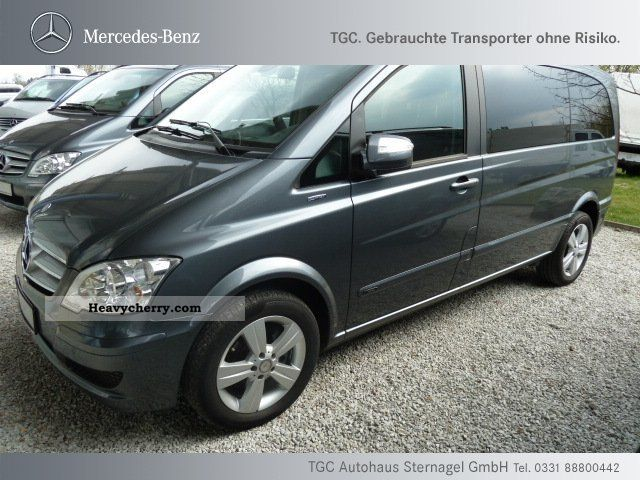Mercedes benz cdi 2 2 viano compact 6 seater air xenon pdc for 2 seater mercedes benz