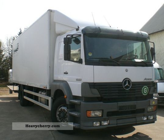 b7cee63f53 2004 Mercedes-Benz Atego 1828 sleeper no case 1228.1528 Truck over 7.5t Box  photo ...