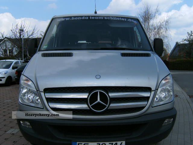 mercedes benz sprinter 216 cdi 2009 box type delivery van. Black Bedroom Furniture Sets. Home Design Ideas