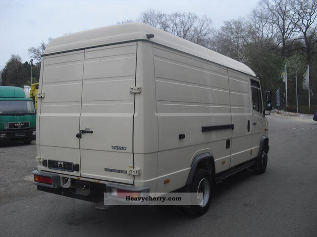 Mercedes-benz Vario 815 D 3-seater High Roof Box Ahk-mouth 2003 Box-type Delivery Van