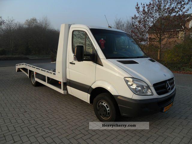 Mercedes benz sprinter 515 cdi 2007 car carrier truck for Mercedes benz sprinter 515 cdi specifications
