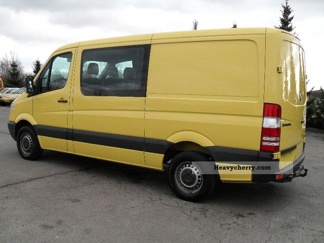 Mercedes benz sprinter truck 209cdi long 2008 box type for 2008 mercedes benz truck