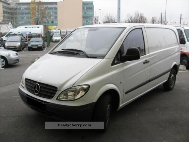 mercedes benz vito 111 cdi fourgon fg 2 7t compact 2009. Black Bedroom Furniture Sets. Home Design Ideas