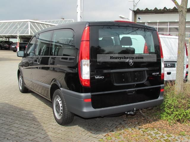mercedes benz 113 cdi blueefficiency vito combi l 2011. Black Bedroom Furniture Sets. Home Design Ideas