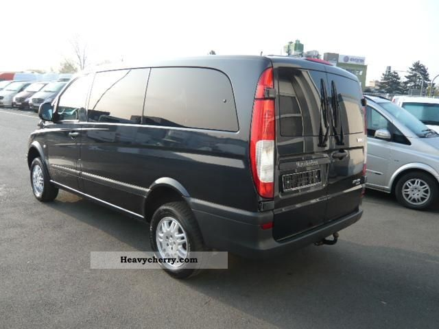 mercedes benz vito 115 cdi 4 x 4 7 seater long rear doors 2007 estate minibus up to 9 seats. Black Bedroom Furniture Sets. Home Design Ideas
