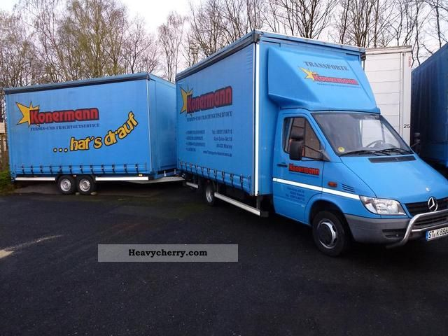Mercedes Benz Sprinter 416 Tilt Trailer With Lbw 2004