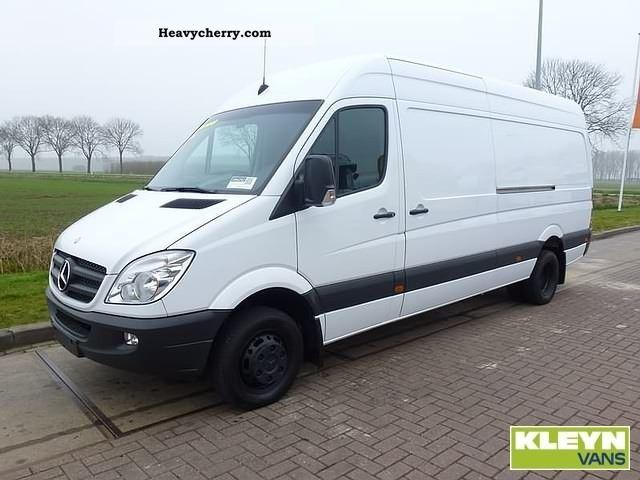 2009 Mercedes Benz Sprinter 516 Cdi Van Or Truck Up To 7 5t Box