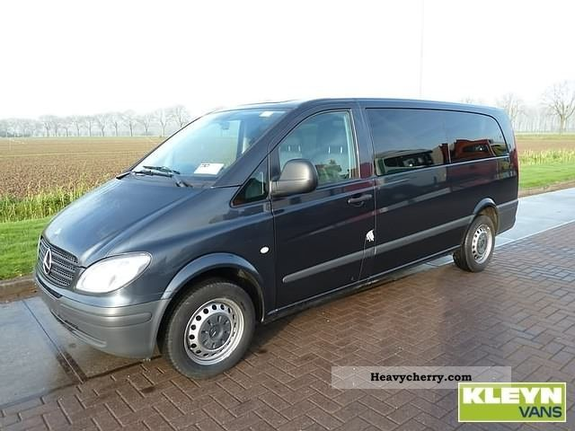 mercedes benz vito 115 cdi 2007 box type delivery van photo and specs. Black Bedroom Furniture Sets. Home Design Ideas