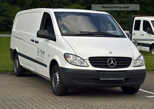 mercedes benz vito 111 cdi dpf stereo climate radio ready 2010 box type delivery van. Black Bedroom Furniture Sets. Home Design Ideas