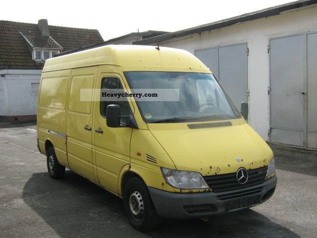 mercedes benz 216 cdi sprinter long high air 2001 box type. Black Bedroom Furniture Sets. Home Design Ideas