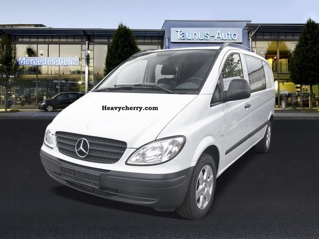 mercedes benz vito 115 cdi mixto ahk 4 seats 2006 estate minibus up to 9 seats truck photo and. Black Bedroom Furniture Sets. Home Design Ideas