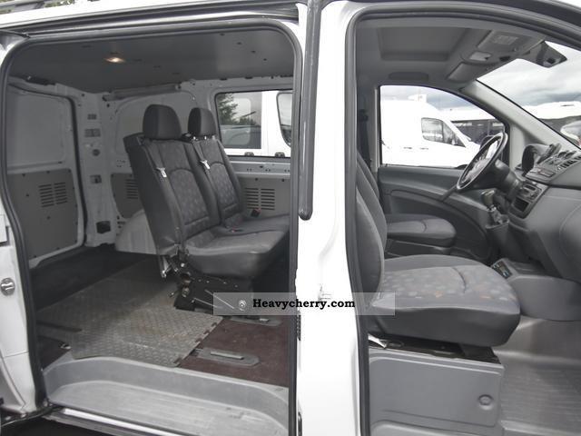 Mercedes Benz Vito 115 Cdi Mixto Ahk 4 Seats 2006 Estate
