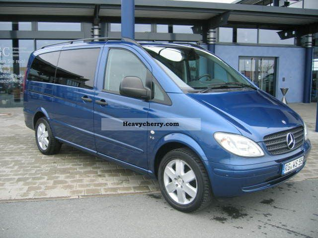 mercedes benz mixto vito 120 cdi long 2007 estate minibus up to 9 seats truck photo and specs. Black Bedroom Furniture Sets. Home Design Ideas