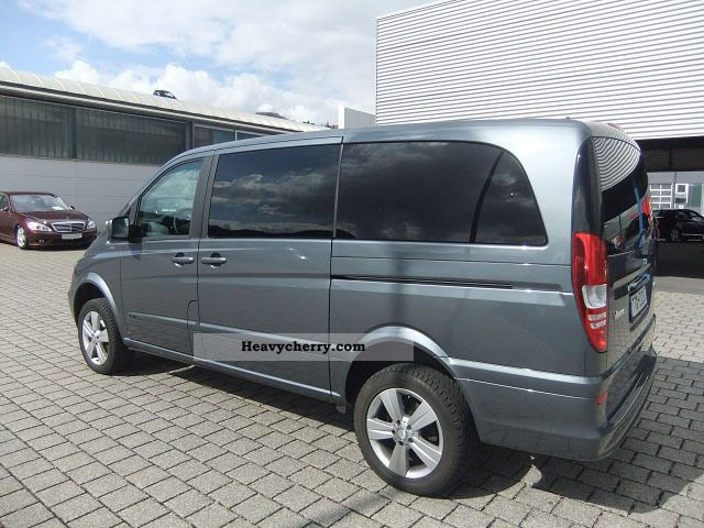 Mercedes benz viano 2 2 cdi 4x4 7 seater comand aps for Mercedes benz seven seater