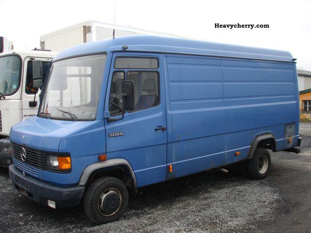 Mercedes benz 508 panel van with low miles original 1994 for Mercedes benz panel van