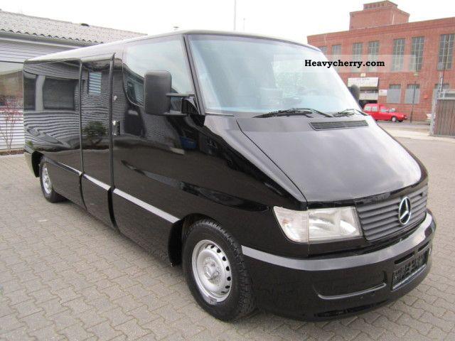 1998 Mercedes-Benz  Sprinter 312 D / Air Van or truck up to 7.5t Security van photo