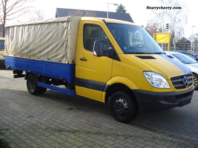 Mercedes benz sprinter 511 tarp checkbook euro 4 2008 for 2008 mercedes benz truck