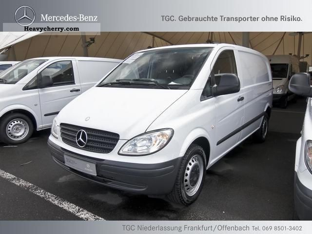 mercedes benz vito 115 cdi air cruise cd radio 2009 box type delivery van photo and specs. Black Bedroom Furniture Sets. Home Design Ideas