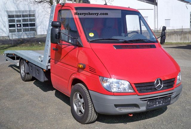 2005 Mercedes-Benz  313 CDI Van or truck up to 7.5t Car carrier photo
