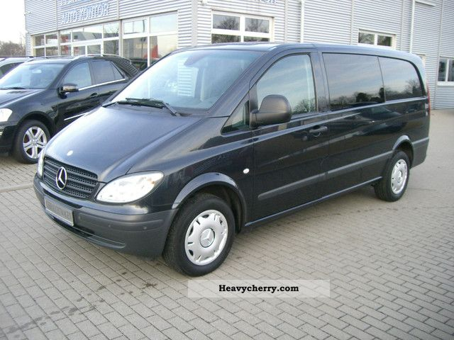 mercedes benz vito 115 cdi 4x4 extra long. Black Bedroom Furniture Sets. Home Design Ideas