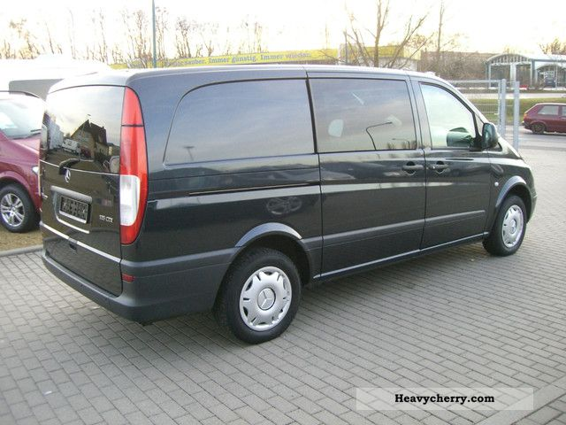 mercedes benz vito 115 cdi mixto long auto truck air standh 2007 box type delivery van. Black Bedroom Furniture Sets. Home Design Ideas