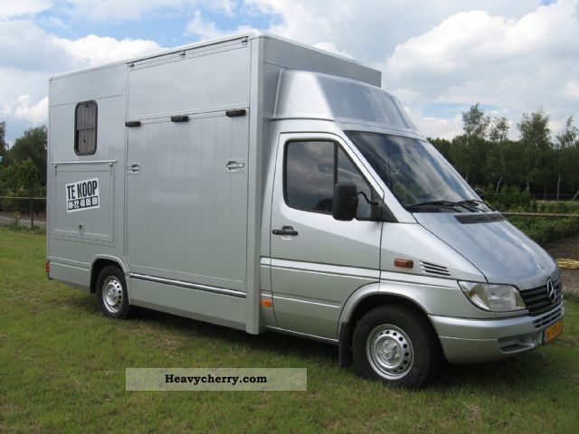 mercedes benz sprinter 308 cdi paardenwagen nieuw gebouwd. Black Bedroom Furniture Sets. Home Design Ideas