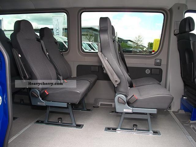 2011 Mercedes Benz Sprinter 215 CDI KBI 9Sitzer Schnierle Seat Conversion Van Or Truck Up