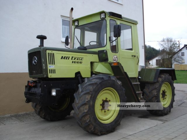 Tractor agricultural vehicle commercial vehicles with for Mercedes benz tractors