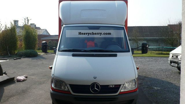 2006 Mercedes-Benz  313 CDI Van or truck up to 7.5t Box photo