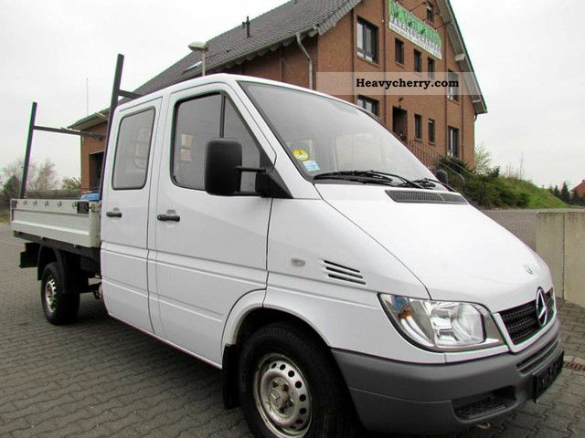 mercedes benz sprinter 313 cdi doka 7 seats standhz ahk diff 2004 estate minibus up to 9. Black Bedroom Furniture Sets. Home Design Ideas