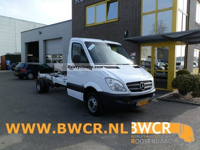 mercedes benz sprinter 513 cdi 2009 chassis truck photo. Black Bedroom Furniture Sets. Home Design Ideas