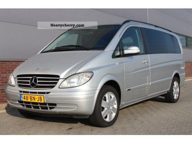mercedes benz viano 2 2 cdi 150pk dc airco 2004 other vans. Black Bedroom Furniture Sets. Home Design Ideas