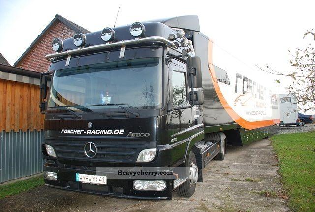 2005 Mercedes-Benz  Show Atego truck, race car transporter, showmen Semi-trailer truck Other semi-trailer trucks photo