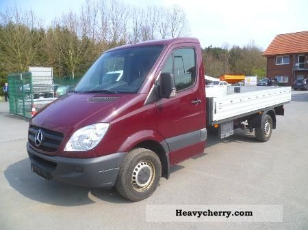 2007 Mercedes-Benz  315 CDI Maxi PRITSCHE 4.3M - EURO 4 Van or truck up to 7.5t Stake body photo