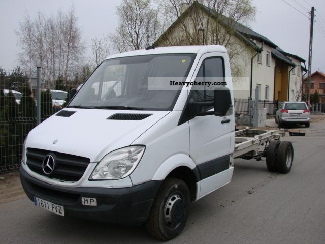 mercedes benz sprinter 515 cdi 2007 chassis truck photo